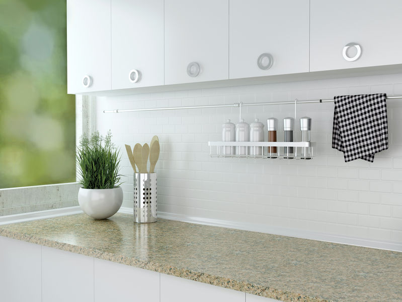 kitchen storage spot