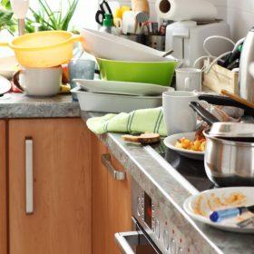 decluttering kitchen checklist