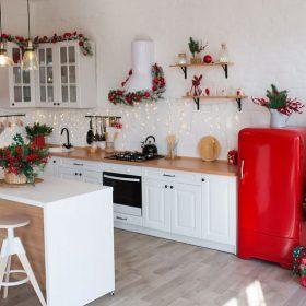 christmas decor ideas kitchen