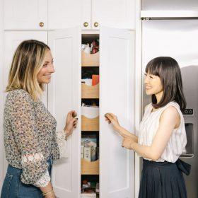 konmarie method kitchen organizing