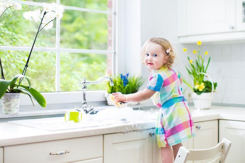 childproof kitchen